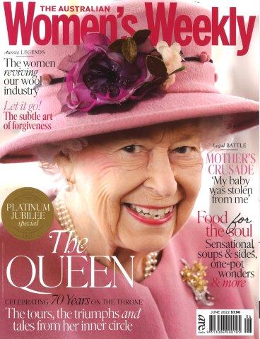 AUSTRALIAN WOMEN`S WEEKLY Magazine