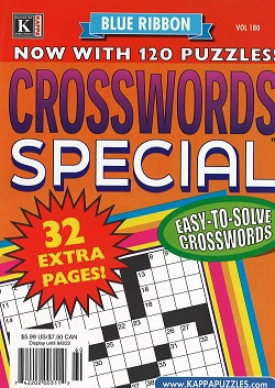 BLUE RIBBON XWORDS SPECIAL,BR XWORD JUMBO