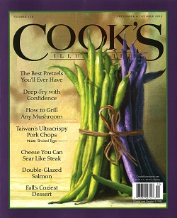 COOK`S ILLUSTRATED Magazine