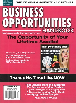 BUSINESS OPPORTUNITY HANDNOOK Magazine