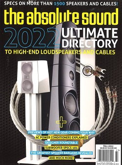 ABSOLUTE SOUND BUYERS GUIDE  Magazine