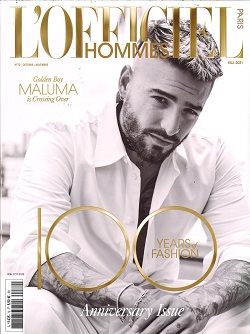 L` OFFICIEL HOMMES Magazine