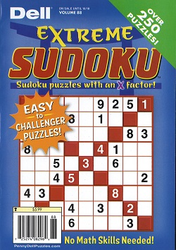 ORIGINAL FUN & EASY SUDOKU Magazine