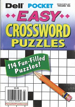 DELL POCKET CROSSWORD PUZZLES  Magazine