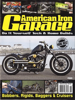 AMERICAN IRON GARAGE Magazine