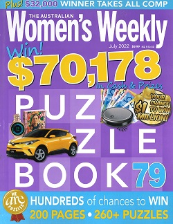 AUST WOMEN`S WEEKLY PUZZLE BOOK Magazine
