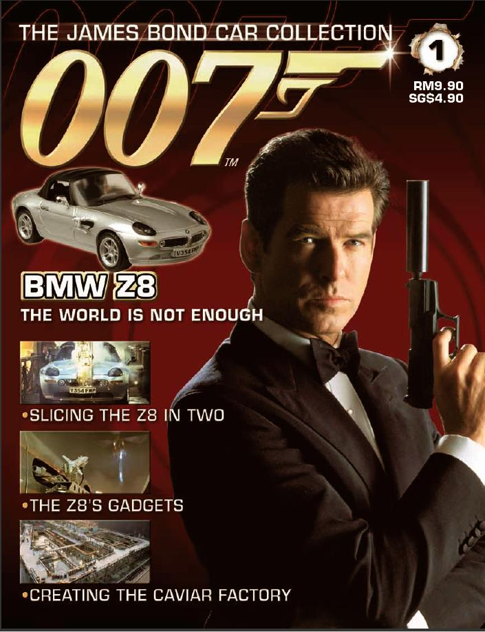 JAMES BOND CARS COLLECTION Magazine