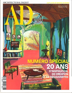 ARCHITECTURAL DIGEST (FRENCH) Magazine