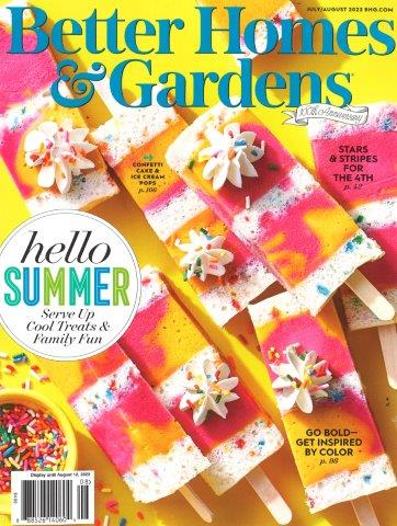 BHG-BETTER HOMES & GARDENS