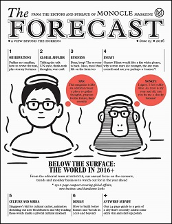 MONOCLE: THE FORECAST 2015 Magazine