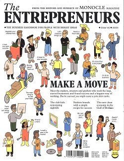 MONOCLE:THE ENTREPRENEURS UK