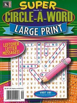 CIRCLE A WORD PUZZLES Magazine