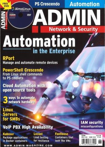 ADMIN NETWORK & SECURITY Magazine