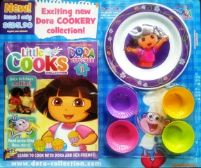 DORA THE LITTLE COOKS COLLECTION Magazine