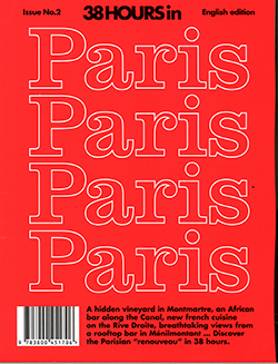 38HOURS IN PARIS Magazine