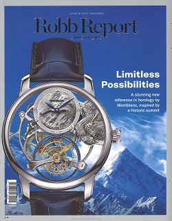 ROBB REPORT SINGAPORE Magazine