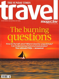 SUNDAY TIMES TRAVEL Magazine