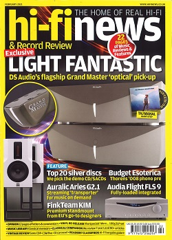 HI FI NEWS Magazine