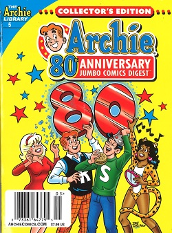 ARCHIE 80TH ANNIVERSARY DIGEST Magazine