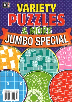 VARIETY PUZZLES & MORE JUMBO SPECIAL