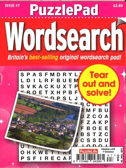 PUZZLE LIFE PPAD WORDSEARCH Magazine