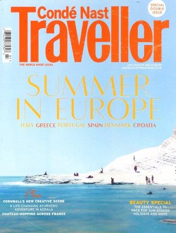 CONDE NAST TRAVELLER UK Magazine