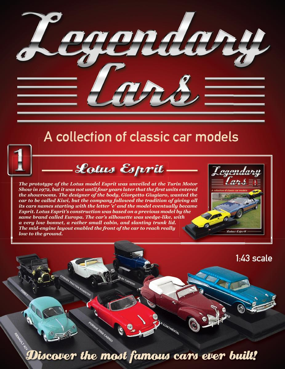 LEGENDARY CARS COLLECTION