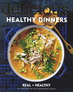 DELICIOUS COOKBOOK:HEALTHY DINNERS Magazine