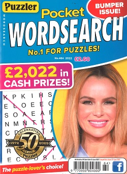 PUZZLER POCKET WORDSEARCH