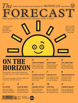 MONOCLE:THE FORECAST/ESCAPIST