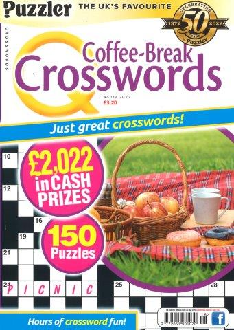 PUZZLER COFFEE-BREAK CROSSWORDS