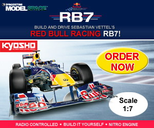 MODELSPACE - RED BULL RACING RB7 Magazine