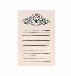 DO OR DIE NOTEPAD (RIFLE PAPER)