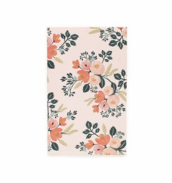 BOTANICAL ROSE POCKET NOTEPAD Magazine