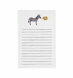 GET IT DONE (ZEBRA) NOTEPAD (RIFLE PAPER) Magazine