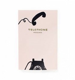 VINTAGE TELEPHONE NOTEPAD (RIFLE PAPER) Magazine