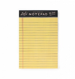 LEGAL NOTEPAD (RIFLE PAPER) Magazine