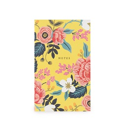 BIRCH FLORAL POCKET NOTEPAD (RIFLE PAPER) Magazine