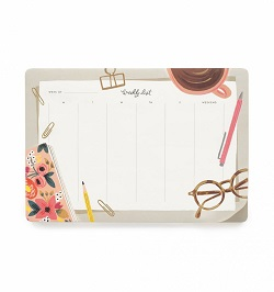 DESKTOP WEEKLY DESKPAD (RIFLE PAPER) Magazine