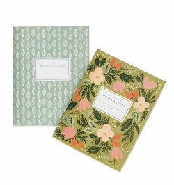 PAIR OF MOSS GARDEN POCKET NOTEBOOKS (RIFLE PAPER) Magazine
