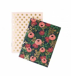 PAIR OF ROSA POCKET NOTEBOOKS (RIFLE PAPER) Magazine