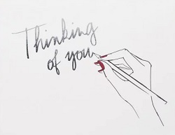 Thinking of You by Garance Dore Card