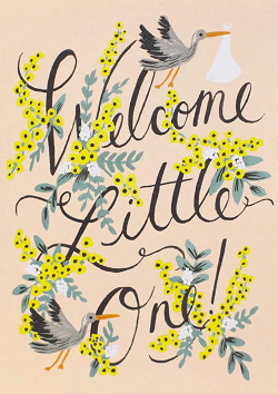 Welcome Little One Card Magazine