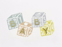 Baby Blocks Card Magazine