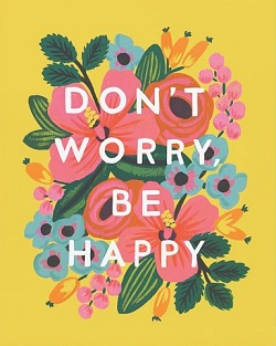Don`t Worry Be Happy Card Magazine