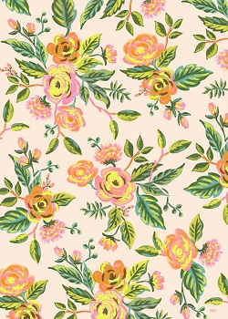 Jardin de Paris Floral Wrapping Paper Magazine